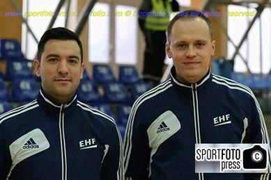 Marko Sekulić i Vladimir Jovandić, za mnoge najperspektivniji rukometni sudijski par Srbije