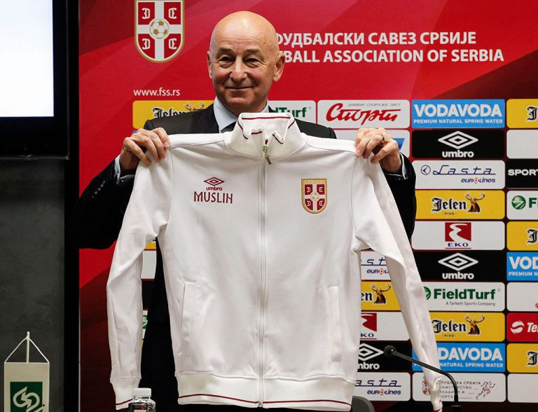 Slavoljub Muslin – selektor fudbalske reprezentacije Srbije