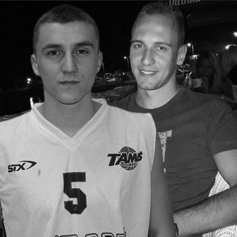 Miljan Bunjevčević i Aleksandar Ilikić